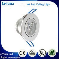 Wholesale 3W LED Ceiling Downlight LED Ceiling Lamp Recessed Spot Light V V for Home Illumination