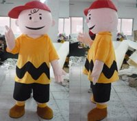 Wholesale Manufacturer Direct selling high quality Fancy Dress Charlie Brown MASCOT Adult Carnival Mascotte cosply Dress Kits Suit Factory Direct