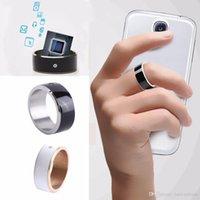 anniversary gemstones - NFC Smart Ring Jewelry Rings Couple Rings Mens Rings Men Wedding Band Rings Gemstone Rings Android Mobile Phone Wear Magic