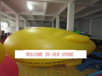 airship balloon - by DHL Exhibition airship inflatable advertising balloon inflatable helium ballon helium blimp