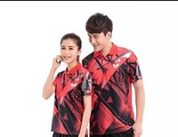 Wholesale 2016 Butterfly table tennis men and women breathable quick drying couples match colors sportswear T shirt SJ2079