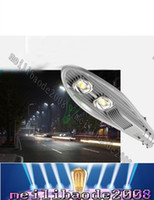 brushed nickel - High Power COB Led Street Lights W W W Led Outdoor Lighting AC85 V Warm Cold White CE ROHS LLFA