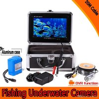 Wholesale 7 quot LCD Underwater Camera Fish Finder HD TVL Lines M Version Usage Fishfinder with TFT Color Fish Breeding Monitor
