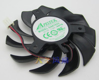aluminum copper - Brand New EVEA Onda graphics card cooling fan APISTEK GA81S2U NNTB DC12V A diameter mm Pitch MM