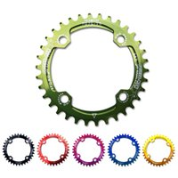 Wholesale Gear King Ultralight BCD T T T38T A7075 Alloy MTB Bike Bicycle Narrow Wide Chainring Round Chainwheel Cycle Crankset