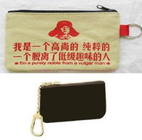 Wholesale DA KEY POUCH KEY AND CHANGE HOLDER ebene N62658 azur N62659 or COTTON WALLET