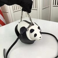 animal cell puzzle - 2017 Loe Fashion show bag panda bag cute hangmake bag Famous brand women with logo animal puzzle bag