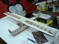 airplane wing parts - new type Cessna plane Woodiness model mm wing more than wood parts electric airplane model kits