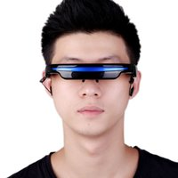 Wholesale 4GB quot Virtual Wide Screen Video Glasses Eyewear Mobile Private Theater Digital with Card Slot Built in GB Flash Memory