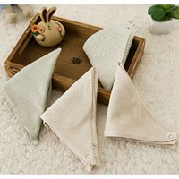 Wholesale Baby Bibs Burp Cloths Scarf High Quality Organic Cotton Bib for Newborn Infant Toddler Kids Saliva Towel