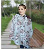 Feed Bag - 13 DESIGNS Cotton Breastfeeding Cover Nursing Covers Shawl Breast Feeding Covers Flower Printed Nursing Covers Blanket Cloth Bag LC376