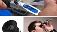 Wholesale Concentration of mass concentration of cattle handheld refractometer