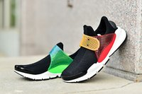 plastic strap - New Unisex Fragment X Sock Dart Running Shoes Athletic Trainer Sneakers