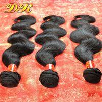 Wholesale 6A Cheap Brazilian Hair Bundles Human Hair Weaves Unprocessed Human Hair Body Wave Weft Indian Malaysian Peruvian Hair Extensions