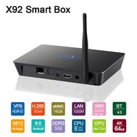 ac host - X92 GB GB Smart S912 Octa Core Top Android TV Box Unlocked Fully Loaded KODI G AC dual band Wifi BT4 Gigabit Lan USB Host Port