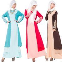 abaya garment - National Trend Abaya Turkish Djellaba Arab Garment Islamic Clothing Dubai Kaftan Muslim Women Long Dress Ethnic Clothing Drop Shipping