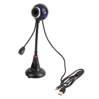 Wholesale 2016 est Bendable USB Webcam Web Cam Video Camera Mic for PC Laptop Desktop Computer Hot