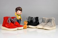 Wholesale with Original box Kids Kanye West x Boost B35309 baby Boost Shoes Running Sports Shoes student boots toddler shoes boys girls Sneakers