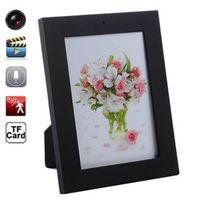 Wholesale 1280x960 HD Digital Photo Frame Mini Hidden Camera DV DVR Nanny Video Camcorder Motion Detect Support GB GB GB GB