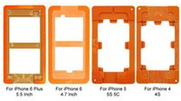 bakelite mould - 100PCS LCD Outer Glass Bakelite Mould Fixture Clamps Holder Screen Refurbished Moulds for Apple iPhone S S S S Plus Model