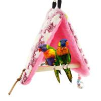 Wholesale Pet Lover Parrot Perch Tent Nest Bird Toy