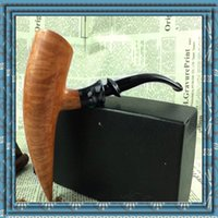 Cheap Newest All manual Briar Bruyere pipe High-grade Flame pattern pipe unparalleled Free Type Dignity symbol Bullish High-end DHL free