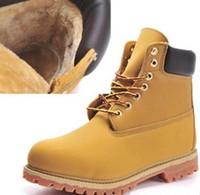 Martin bottes hommes femmes Bottes de travail en cuir véritable bottes de neige chaude usure-résistant Chaussures d'escalade extérieure