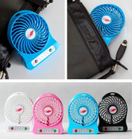 baby outdoor gear - Mini USB Fan Portable Rechargeable Fans Air Cleaning Cooling Battery Operated For Indoor Outdoor Kids Table Battery Silent Fan