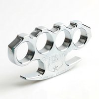 Wholesale The Mafia TITANIUM HEAVY DUTY BUCKLE BRASS KNUCKLE DUSTER Quality is very good be worth to collect