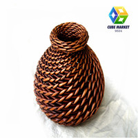 bamboo handicrafts - hotting selling Handicraft vase european style flower vase flower vase for wedding and home decoration style for your choose