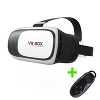 Wholesale VR Glasses VR BOX Virtual Reality VR Headset D Movies Games With Remote controller for inch Smartphone