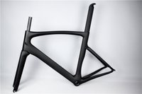 Wholesale T1000 K Carbon Weave Road Bicycle Full Carbon Road Frameset Complete Carbon Frame