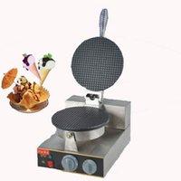 Wholesale 220V Single Head Electric Baker Maker Nonstick Crepe Maker Ice Cream Cone