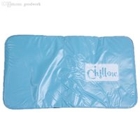 Wholesale Cooling Blue Pillow Single Cooling Mattress Pad Cool Gel Mat for Night Sweats Cozy