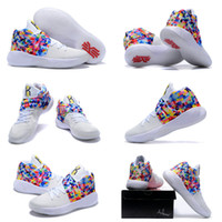 Cheap 2016 Kyrie2 Air Zoom Kyrie Irving 2 Men's Basketball Shoes for Top quality Irving2 Rainbow Cheap Sale Sports Training Sneakers Size 7-12