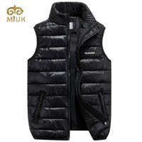 Wholesale Fall Black Red Green Blue Sleeveless Down Vest Chaleco Hombre Coletes Vest Men Colete Masculino Inverno Jaqueta Masculina