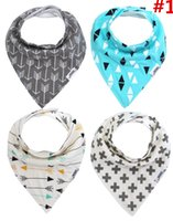 baby bib pack - Baby Bandana Drool Bibs Shade Pack Absorbent Modern Infant Gift Adjustable Cotton Unisex Brand new and high quality