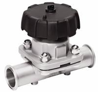 Wholesale Sanitary Quick Diaphragm Diaphragm L DN10 Mini Stainless Steel Manual Valve Diaphragm Valve