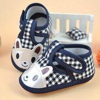 Wholesale 2017 Cute Animal Baby Shoes Girl Boy Anti slip Skid proof Shoes Soft Cotton Toddler Infant First Walkers Kids Gift