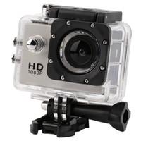 action dvd player - car dvd For gopro hero style Full HD DVR SJ4000 video Sport camera Sport Helmet Action Camera Waterproof DV Two battery monopod