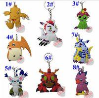 amethyst rubbers - Styles Cartoon Pocket Pikachu Pokémon Action Figures Poke Ball Animal rubber Keychain Keyring Pendant Halloween christmas gifts