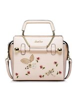 Wholesale Pink Women Handbag PU Leather New Design Fashion High Quality Shoulder Bag