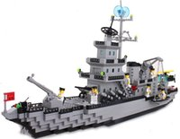 Wholesale 970 new style initiation battlecruisers ship series assembled toy bricks for children gifts
