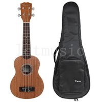 abalone guitar rosette - Soprano Ukulele inch Hawaii Guitar Laminated Mahogany Top Abalone Soundhole Rosette Matt W Bag