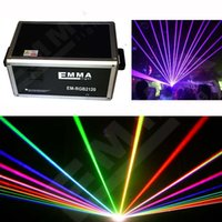 Wholesale 12000mw RGB animation laser D SD card stage lights disco laser club light party laser laser show