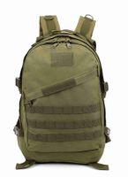 Wholesale 2016 Molle housekeeper Backpack Waterproof D High capacity Assault Travel Rucksacks Backpacks Army Bag3D tactical assault backpack backpa