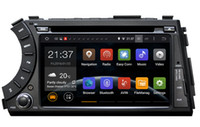 Wholesale 7 quot din Android car dvd gps for ssangyong Kyron Actyon G Wifi BT support dvr OBD2 quad core x600
