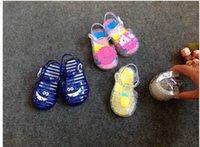 Wholesale 2016 New Mini Melissa Girls Sandals Pineapple Jelly Shoes Boys Shark Sandals Flat Toddler summer child sandals Infantil Shoe