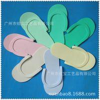 beach beauty salon - HOT Disposable Slipper EVA Foam Salon Spa Slipper Disposable Pedicure thong Slippers Beauty Slippers