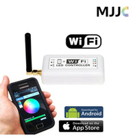 adjustable strip - Mini WIFI RGB Color Temperature Adjustable Dimmer LED Controller for LED Strip Lights by Smartphone or Tablet Android or IOS4